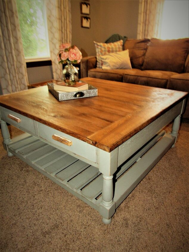 How to Build a Coffee Table 42 X 42