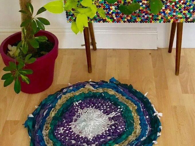 beautiful diy rag rug, Beautiful Rag rug