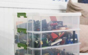 Easy DIY LEGO Brick Organization