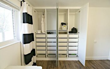Ikea Pax Hack: Wardrobe for Closet Organization and Space