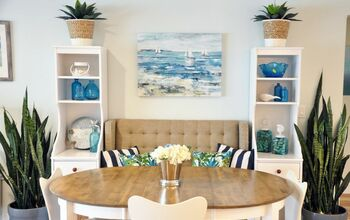 Upcycling – DIY Built in Banquette Shelving
