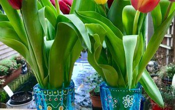 Gorgeous Glass Vase Make-over