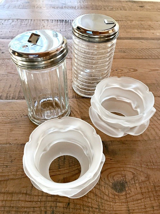 create the look of depression glass