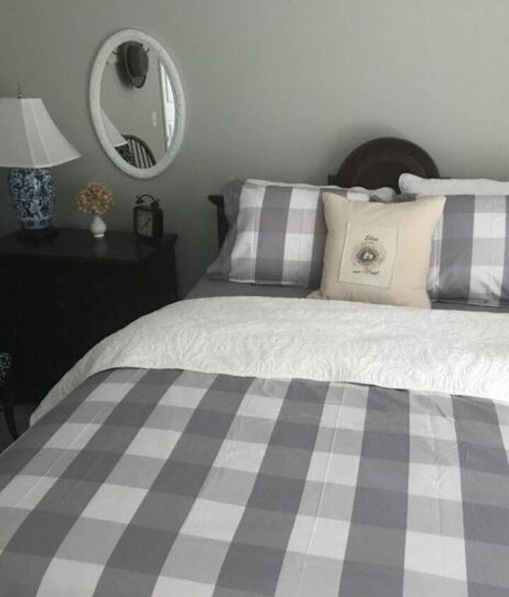 guest room goes farmhouse