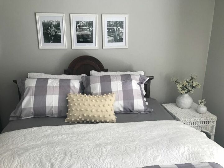 Photos Above Bed