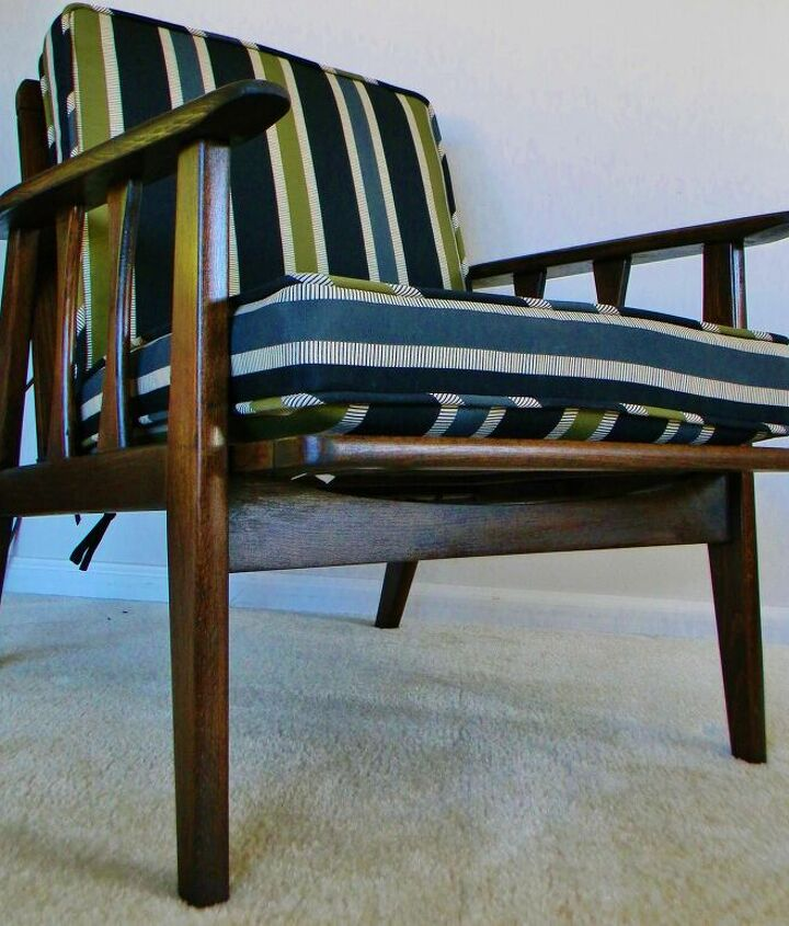 s mid century furniture makeovers, Mid century Modern Chair Reviving a Retro Classic