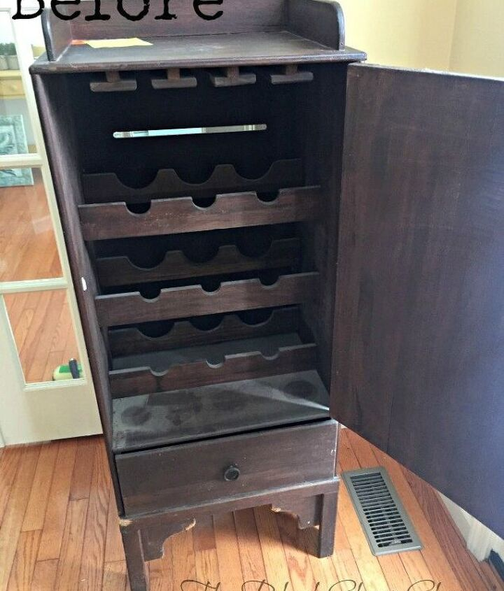 create functional storage from old furniture