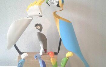 DIY PVC Pipe Birds | Flamingo, Hummingbird, Heron, Woodpecker & More