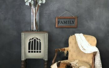Flea Market Side Table Idea That Will Blow Your Mind!