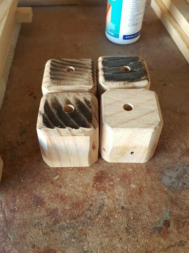 scrap wood diy planter