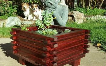 Scrap Wood DIY Planter