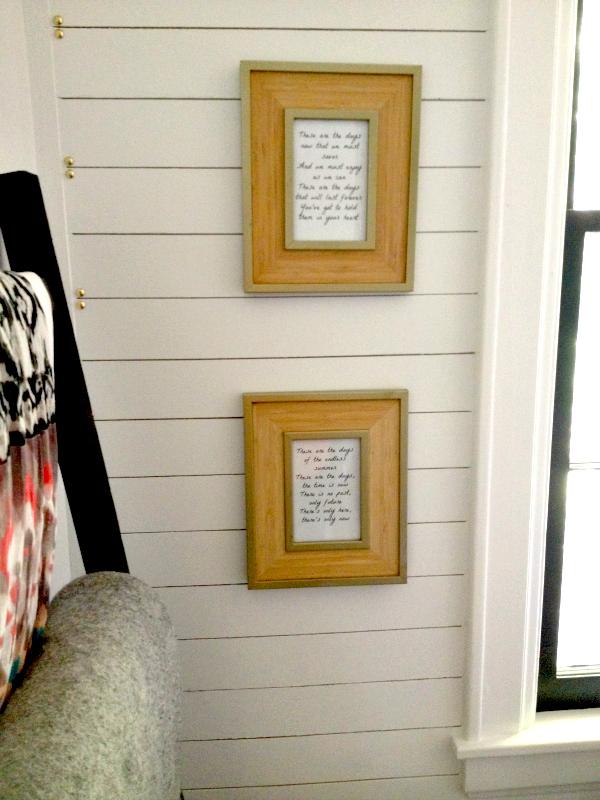 s plank wall ideas, The Easiest DIY Plank Wall Design