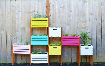 Rainbow Vertical Garden DIY