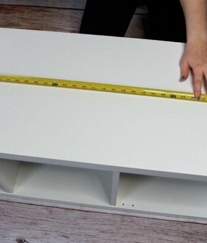 ikea kallax storage bench