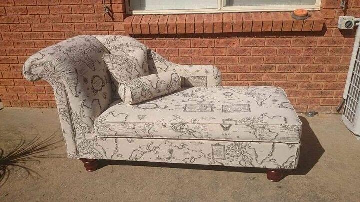 Handmade Chaise Lounge.