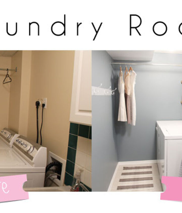 s diy home projects, Freshen Up Your Laundry Room