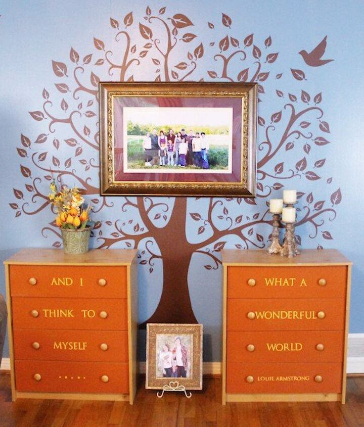 s diy home projects, Dress Up Your Dresser in Unique Style