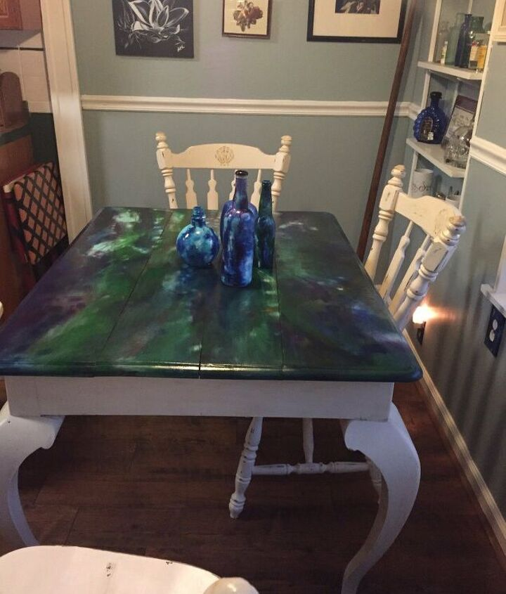 s diy home projects, Eat in Style at Your New Kitchen Table