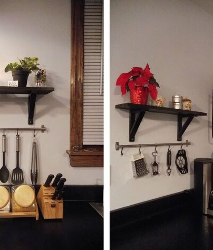 s diy home projects, Give Your Kitchen Walls New Style and Purpose