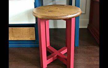 Build This Simple $20 Stool or Side Table