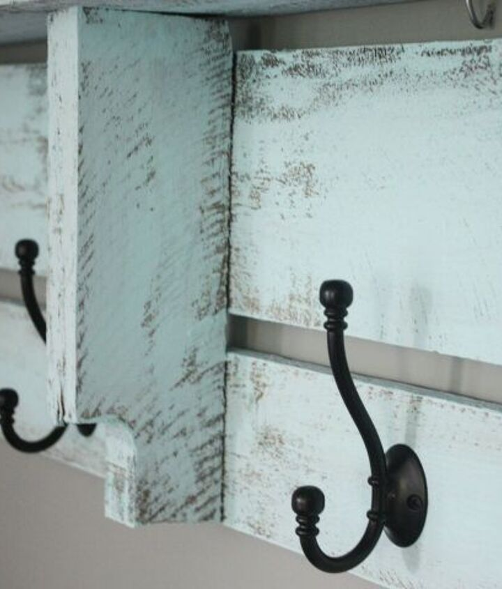 s easy diy projects, A New Coat Rack with This Easy DIY