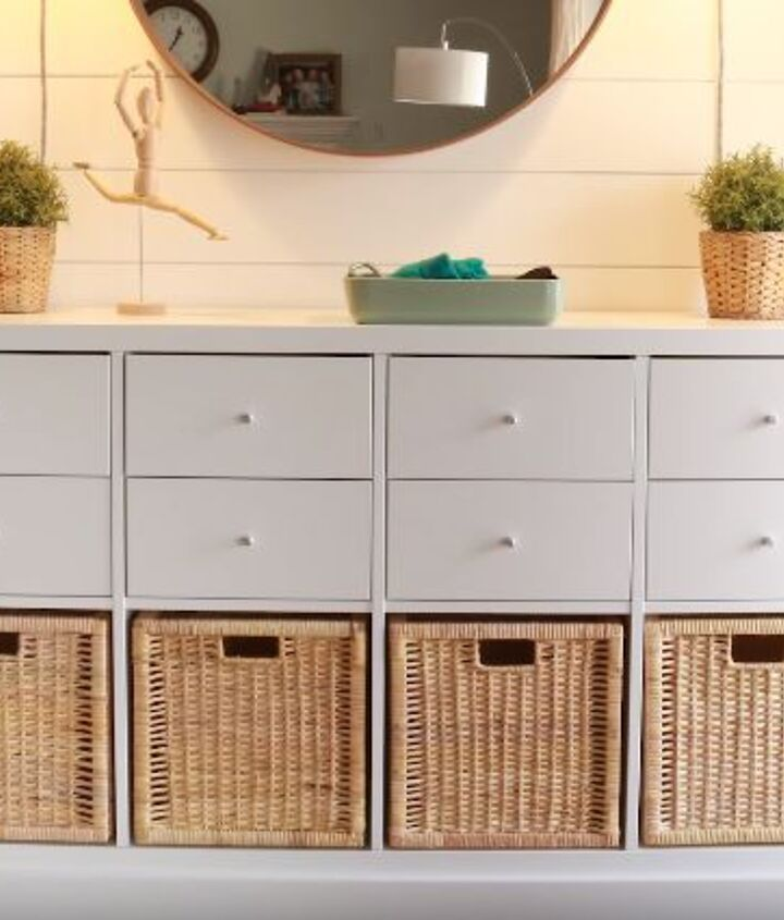 s easy diy projects, Taking an IKEA Console to the Next Level