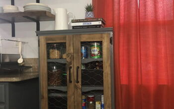 No Kitchen Pantry? Upcycle an Old Bookshelf Into THIS!
