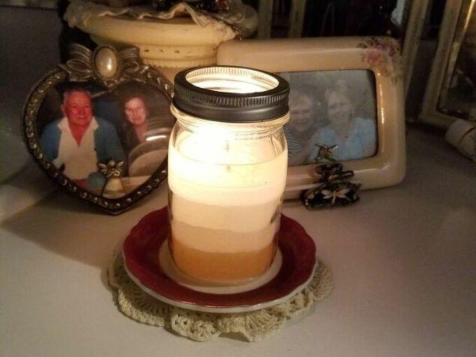 rebatching old candles