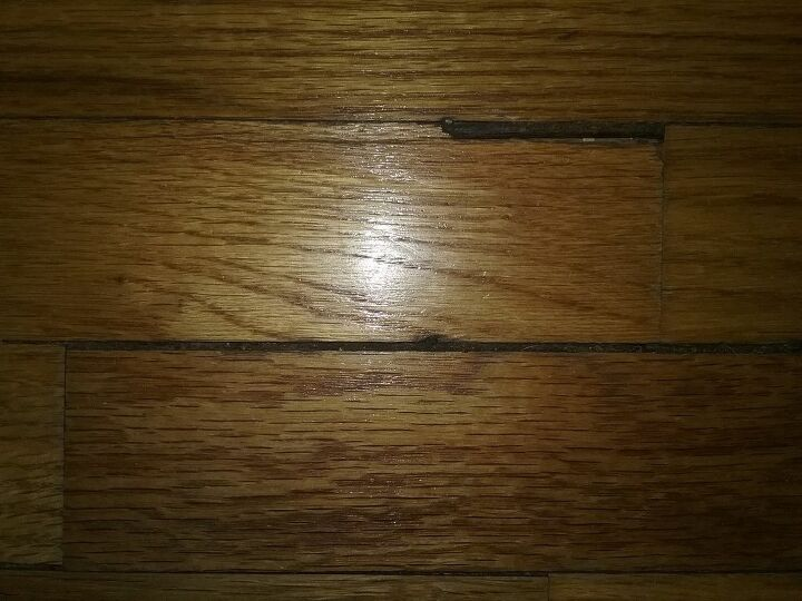 q how do i fill spaces between the wood in my hardwood floors