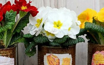 How To Make Rustic Vintage Upcycled Planters