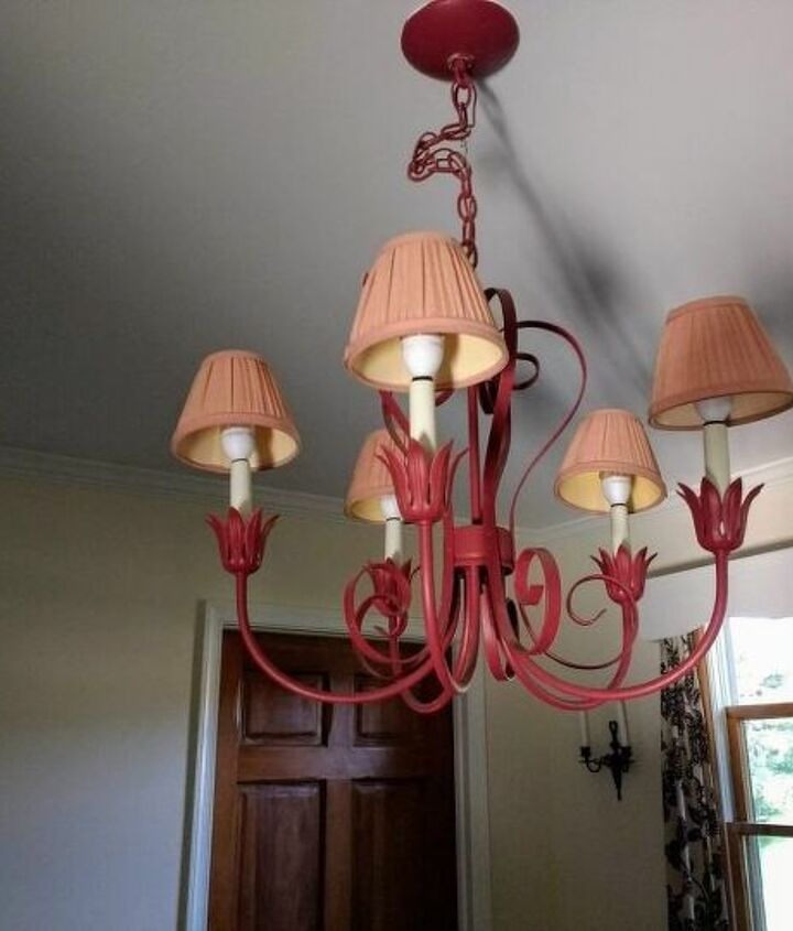 outdoor solar chandelier diy upcycled trash to treasure makeover