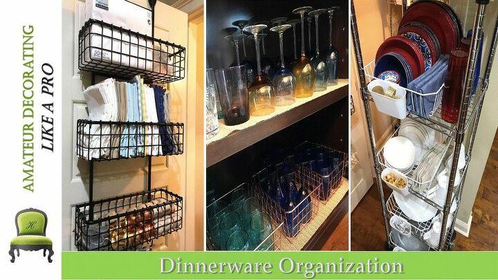 How To Organize Dinnerware Diy Hometalk