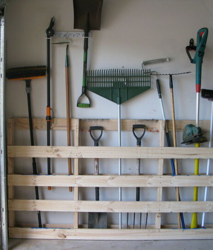 s garage storage ideas, Garage Storage for Your Garden Tools