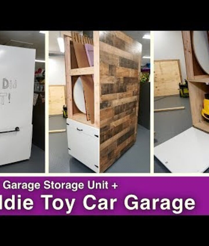 s garage storage ideas, Ingenious 5 in 1 Garage Storage Unit