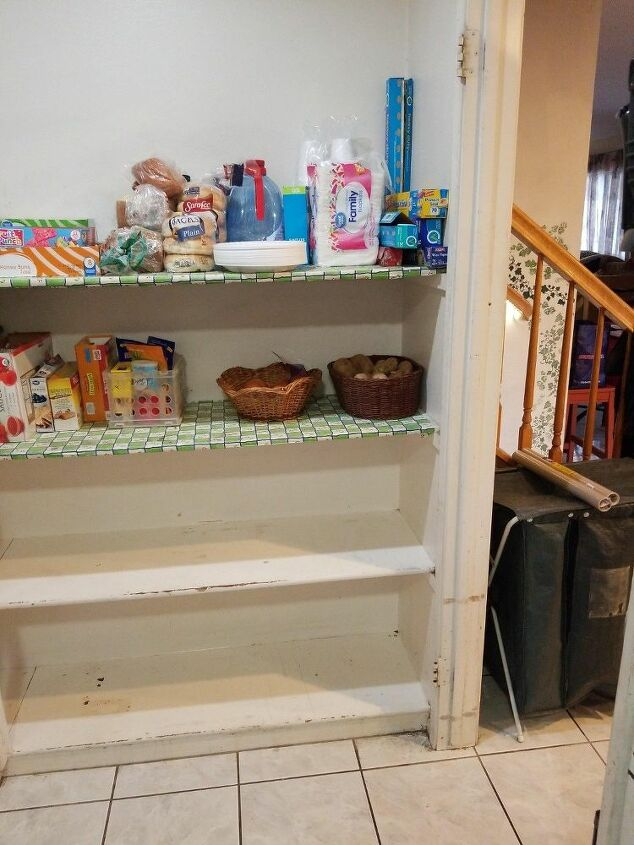 q how do i m fix this mess of a pantry