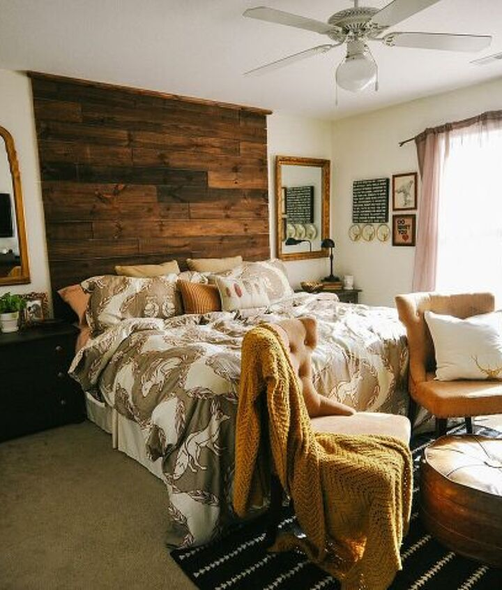 s master bedroom ideas, The Rustic Master Bedroom