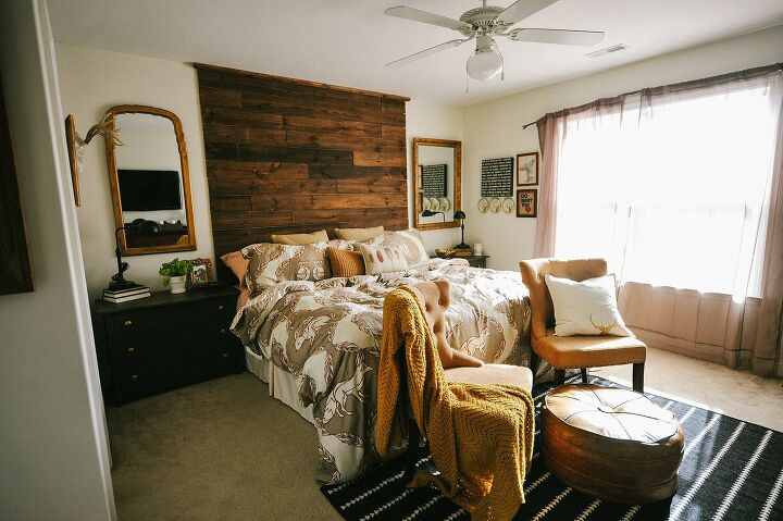 s master bedroom ideas, The Rustic Master Bedroom