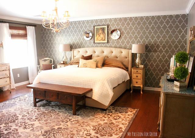 s master bedroom ideas, The Vintage Master Bedroom