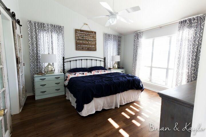 s master bedroom ideas, The New England Master Bedroom