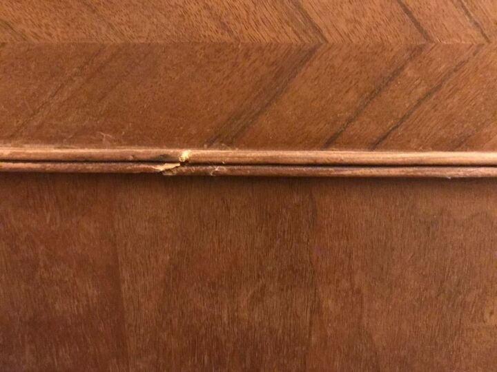 q how to repair this very fine art deco molding