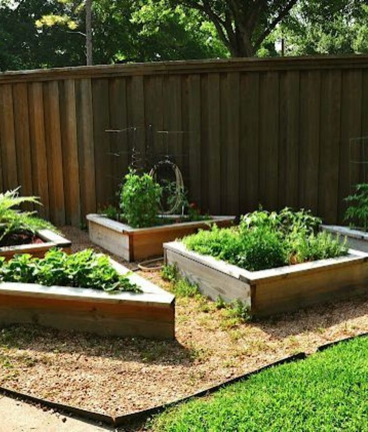 s diy raised garden bed ideas, Shaped Garden Beds