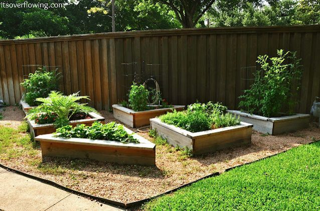 s diy raised garden bed ideas, Shaped Garden Beds