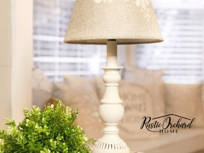 learn how to paint a lamp shade