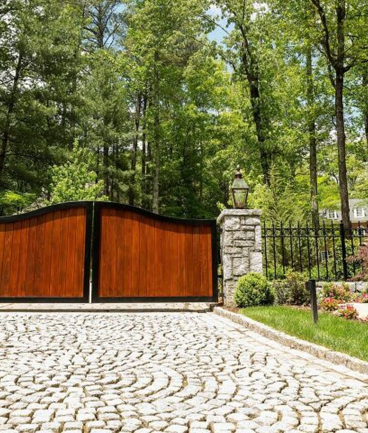 s diy home security ideas, High Fences Offer Privacy Security and Style in One Neat Package