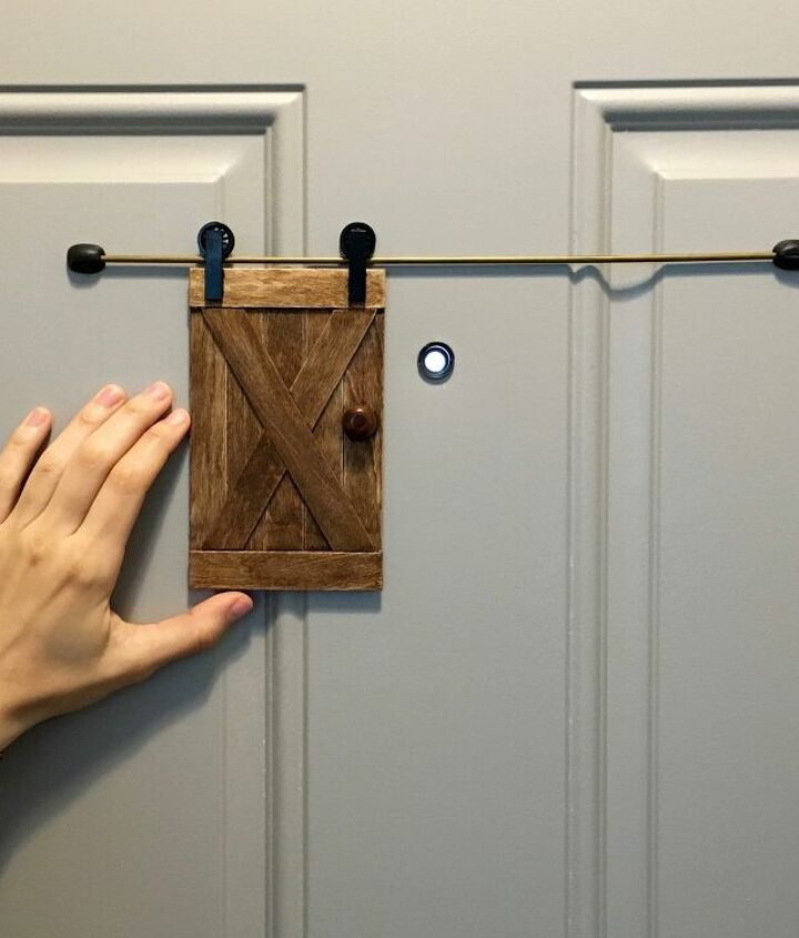 s diy home security ideas, Cute Ways to Cover Your Peepholes When Not in Use