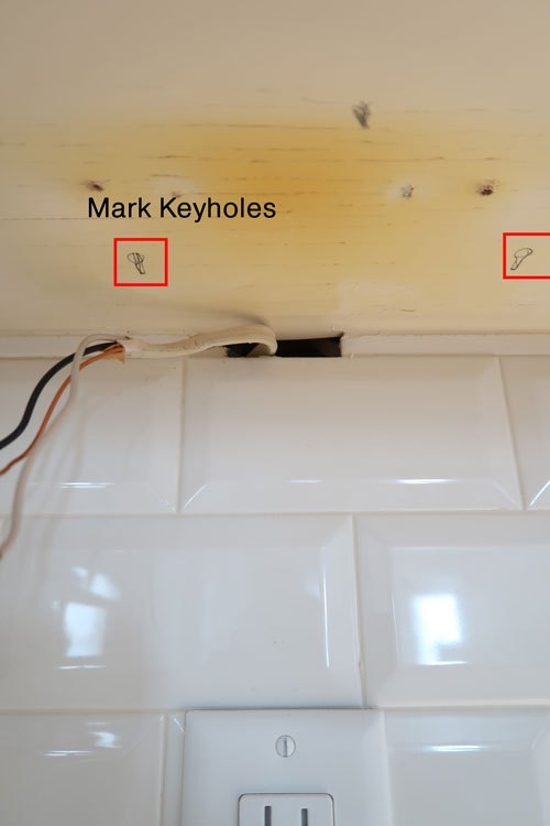 how to install led under cabinet lights in the kitchen