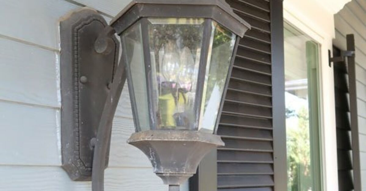 How To Replace Outdoor Wall Sconces Diy Hometalk