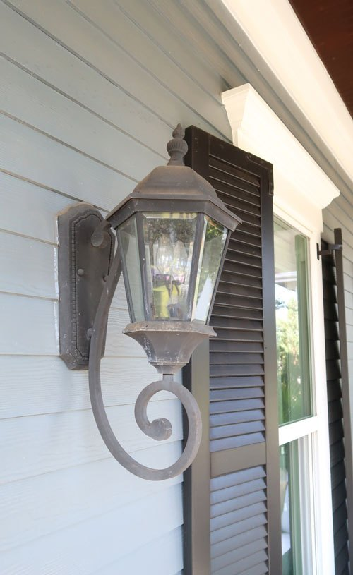 how to replace outdoor wall sconces