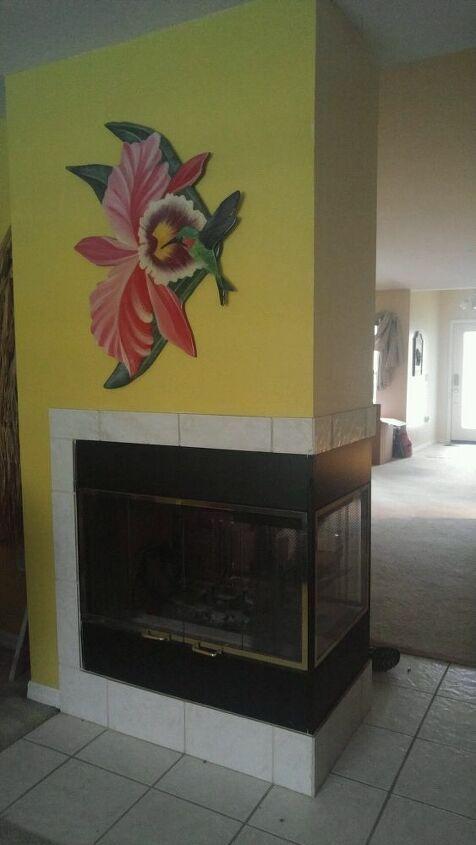 q how can i change up this fireplace