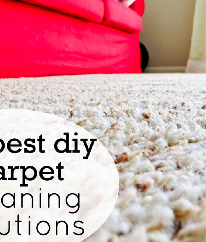s best ways to clean with vinegar, Get an Ultra Clean Carpet with Vinegar